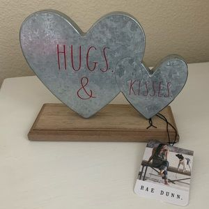 Rae Dunn Home Decor - Hugs & Kisses